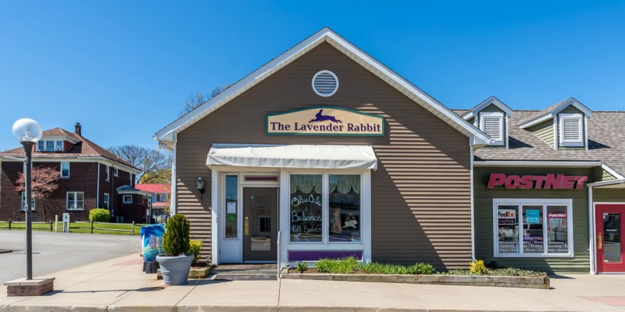 The Lavender Rabbit Exterior